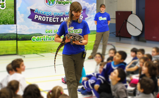 School Assembly with tegu